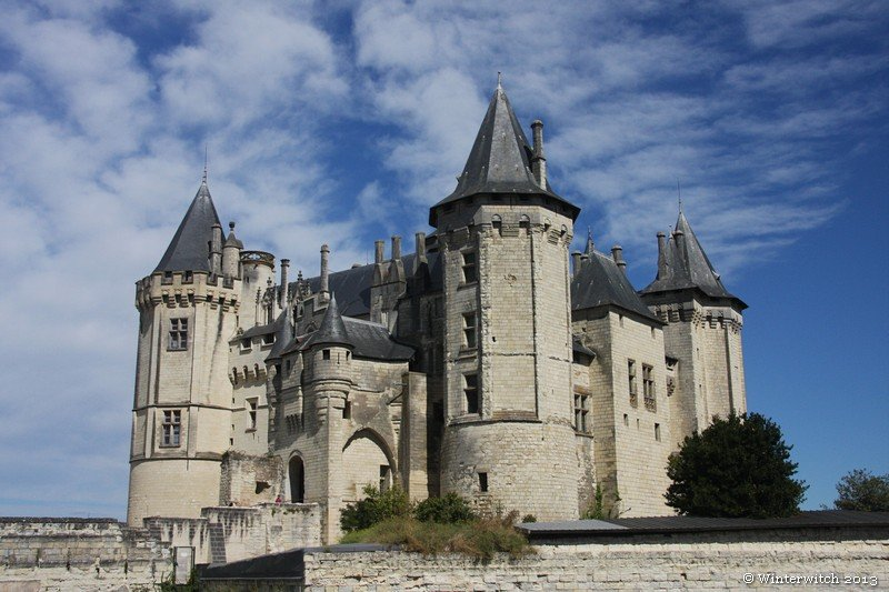 Saumur castle, full view