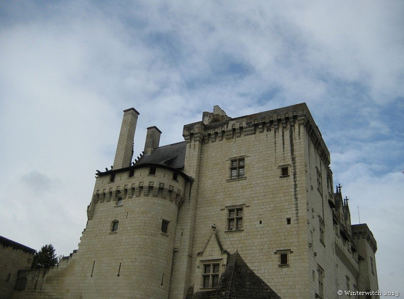 Montsoreau Castle, view of the top part