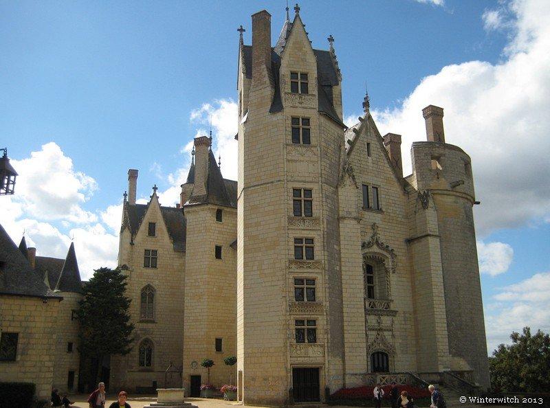 Montreuil-Bellay Castle, Corps de Logis