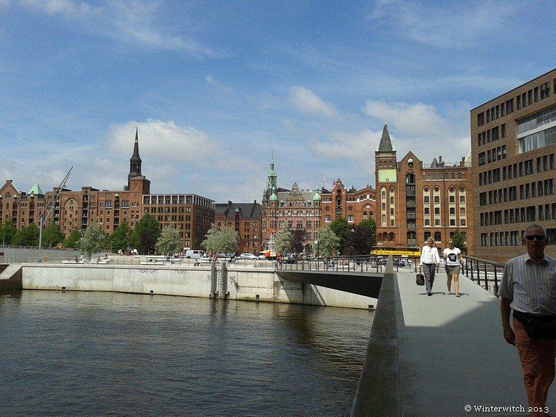 Hamburg Speicherstadt Panorama